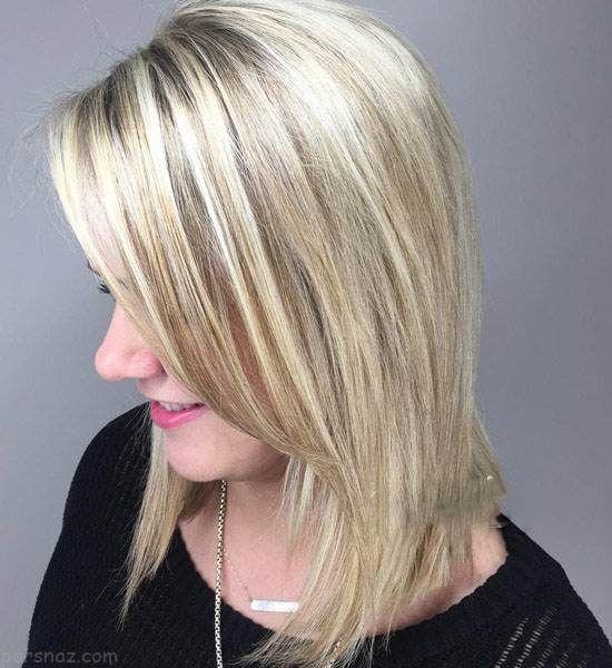 مدل مو زنانه و هایلایت های جذاب 97 -2018