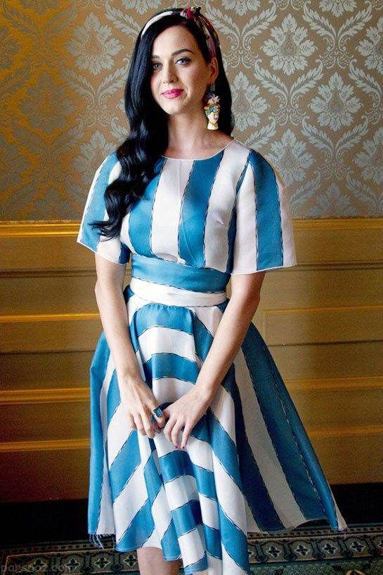 لباس های عجیب و غریب کیتی پری خواننده جنجالی