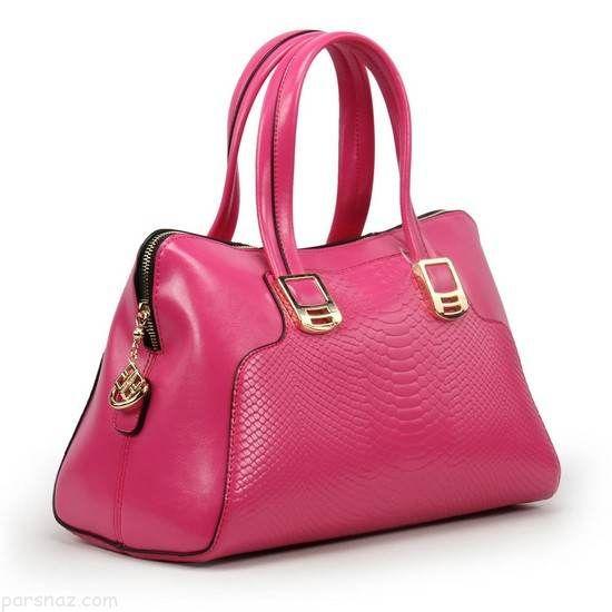 مدل های زیبای کیف چرم ورنی شیک