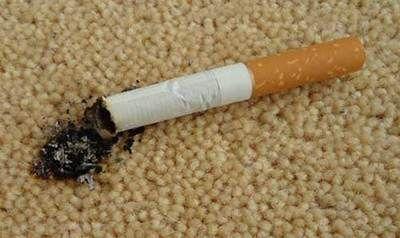 از بین بردن لکه شمع و سوختگی روی موکت و فرش
