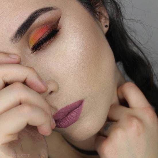 مدل های آرایش صورت جذاب از Sandra Miyagi