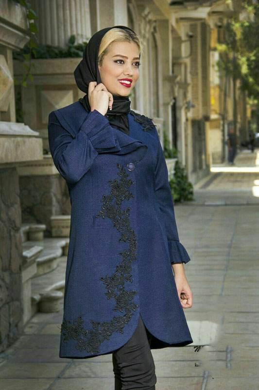 مدل مانتو بهاره شیک ایرانی از برند Mina