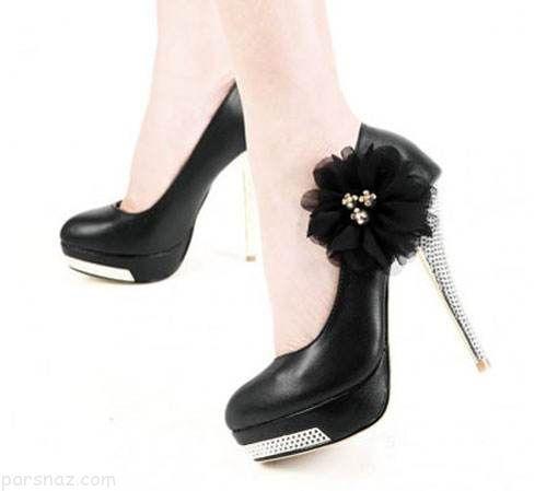مدل های زیبا و جدید کفش پاشنه بلند مجلسی