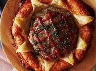 طرز تهیه پای همبرگر و سوسیس خوشمزه