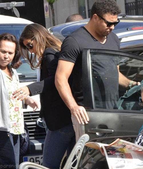 رونالدو و همسرش جدیدش در حال خوش گذرانی