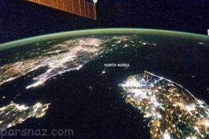 عکس های دیدنی از مرز بین کشورها از فضا
