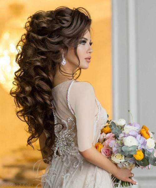مدل مو و شینیون مجلسی و عروس