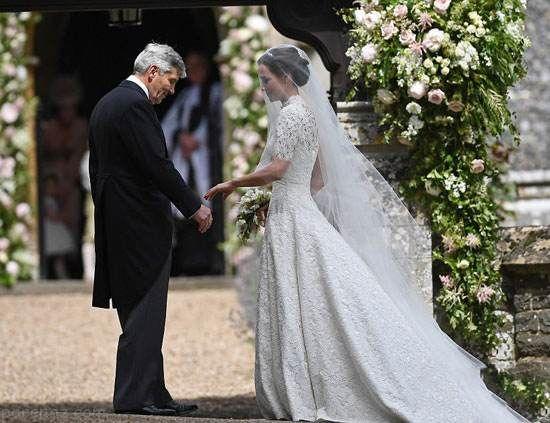 مراسم عروسی پیپا میدلتون خواهر کیت میدلتون