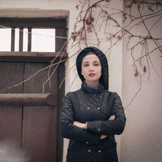 مینا ساداتی بازیگر ایرانی مدل آرایشی شد
