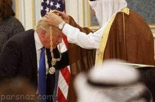 هدیه های گران قیمت پادشاه عربستان به ترامپ