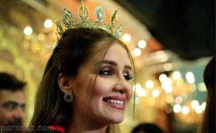 دختر زیبای کرد ملکه زیبایی عراق در سال 2017 شد