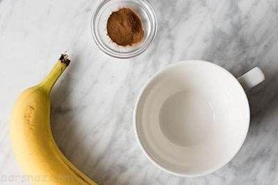 معجزه نوشیدن چای موز قبل از خواب