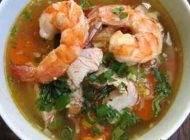 آموزش درست کردن سوپ میگو مفید و خوشمزه