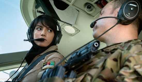 دختری که زیباترین زن خلبان در تمام جهان است