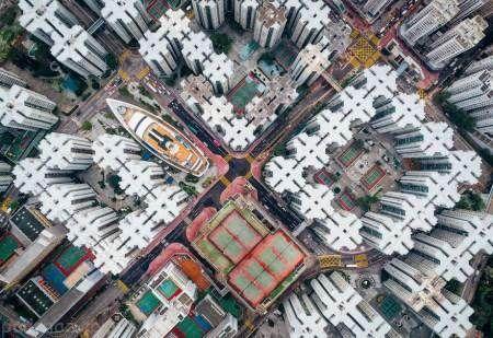 برج های مرتفع شهر هنگ کنگ به روایت تصویر