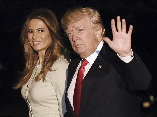 بازگشت دونالد ترامپ و ملانیا پس از سفرهای جنجالی