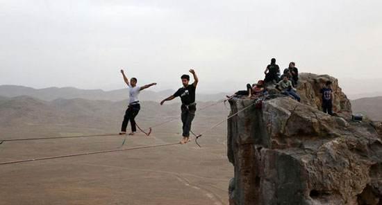 درباره ورزش اسلک لاین هیجان در ارتفاع