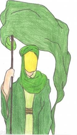 کبوتر سبز شعرهای کودکانه نیمه شعبان ولادت امام زمان (ع)