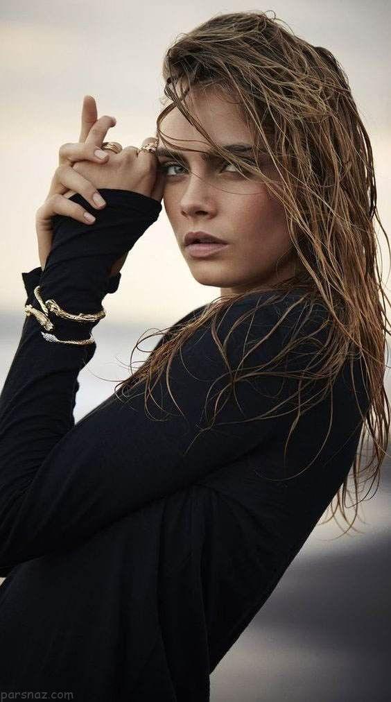 استایل و لباس به سبک کارا دلوین مدل مشهور