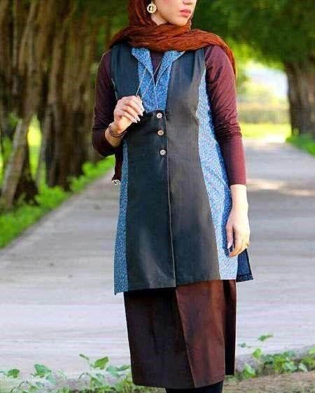 مدل های جدید مانتو ایرانی در طرح های سنتی