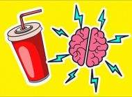 مضرات مصرف نوشابه برای مغز انسان