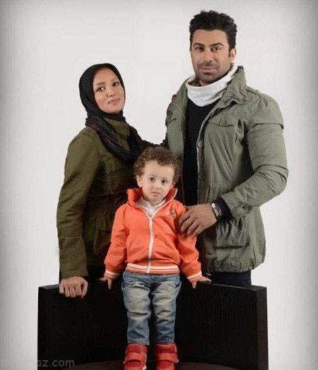همراه با روناک یونسی و همسرش در زندگی شخصی