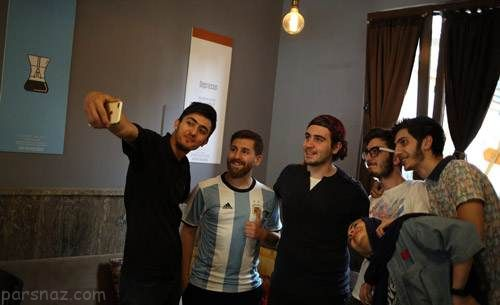گفتگوی جالب با رضا پرستش بدل ایرانی مسی