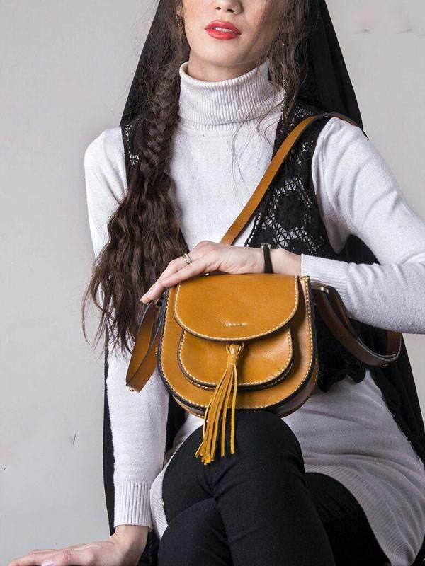 بهترین مدل های کیف چرم دست دوز ایرانی