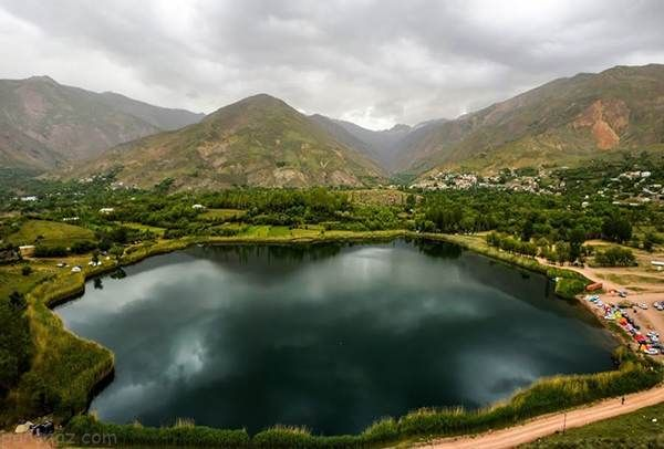 سفر به دریاچه اوان بهشت رویایی قزوین در الموت