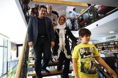 تصاویر خانوادگی سالار عقیلی در کنار همسر و پسرش
