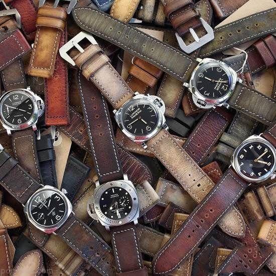 جدیدترین مدل های ساعت مچی بند چرمی Panerai Central