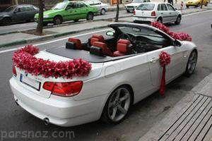 انواع مدل های تزیین ماشین عروس زیبا و دیدنی