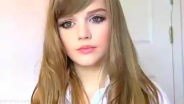 زیبایی خیره کننده دختر دورگه جنجال به پا کرد