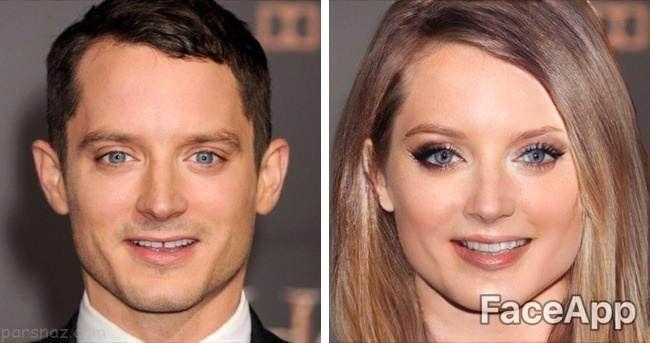 اگر بازیگران تغییر جنسیت دهند چه شکلی می شوند؟