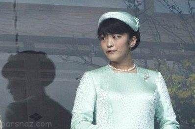 دختر پادشاه ژاپن با یک کارگر فقیر ازدواج کرد