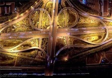 عظیم ترین پل ماشین رو در کشور چین +عکس