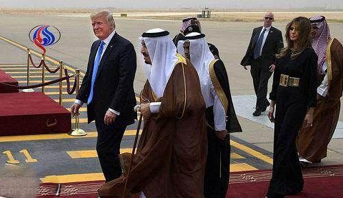 حاشیه های جنجالی ایوانکا و ملانیا ترامپ در عربستان
