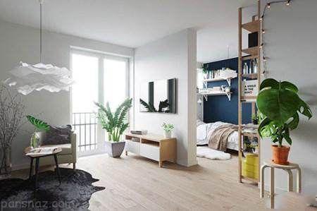 نحوه چیدمان دکوراسیون در آپارتمان های کوچک