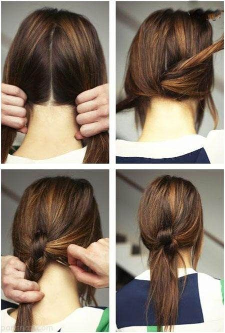 بهترین و زیباترین مدل موهای دم اسبی زنانه