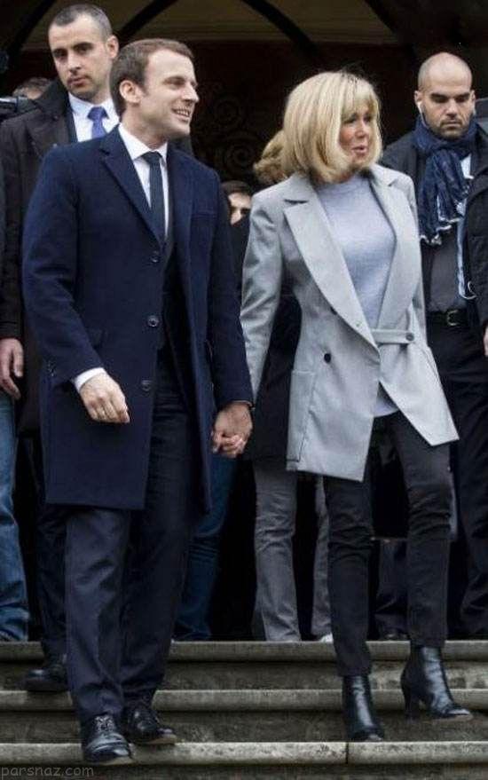 روایت جالب همسر پیر امانوئل مکرون رئیس جمهور فرانسه