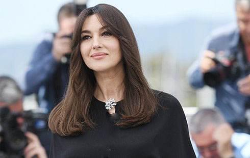 عکس های مونیکا بلوچی در جشنواره کن 2017