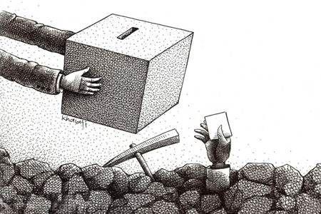 کاریکاتورهای زیبا درباره موضوعات روز ایران را ببینید