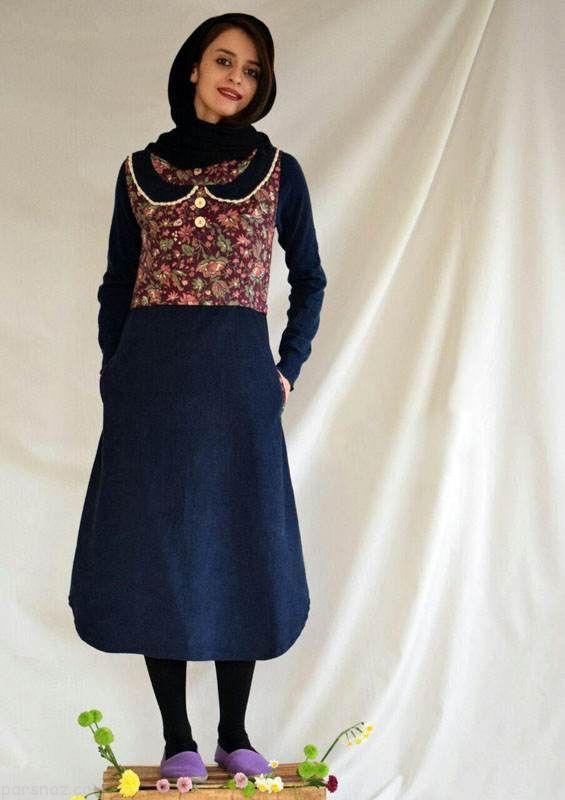 شیک ترین مدل مانتو سنتی ایرانی برند نادری
