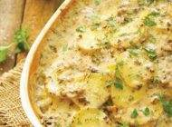طرز تهیه پای همبرگر با سس قارچ برای افطار