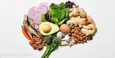بهترین مواد غذایی مفید برای مغز انسان