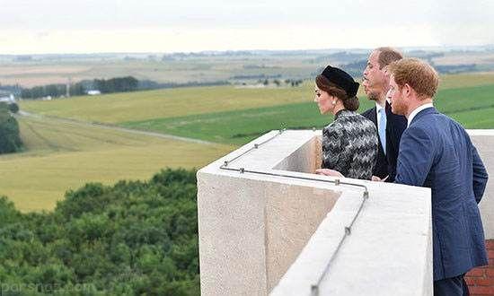 استایل کیت میدلتون در کنار شاهزادگان انگلستان
