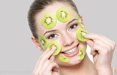 فایده های بی نظیر کیوی برای پوست شما