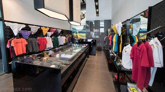 مرکز رویایی فروش خودروهای لامبورگینی در دبی