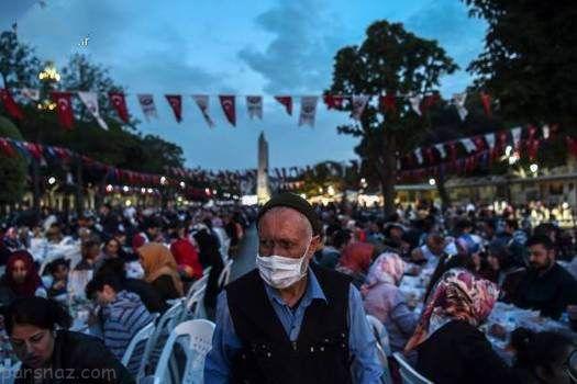 ماه رمضان و سفره افطار در کشور ترکیه