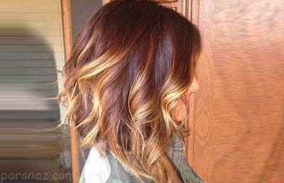 زیبایی بیشتر با رنگ موی بلوند کاراملی
